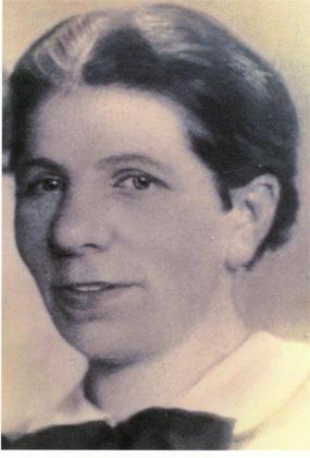 Fotografie: Amalie Stutzmann, Krankenschwester, undatiert (um 1938)