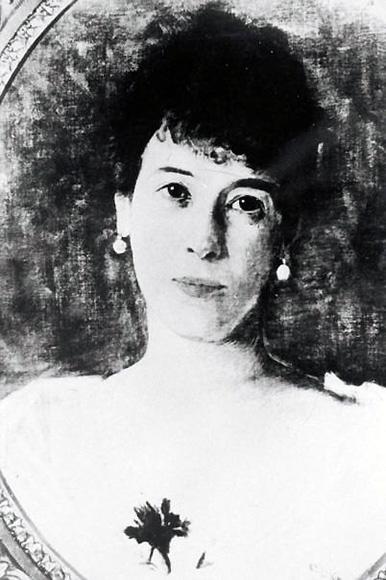 Minka von Goldschmidt-Rothschild, Fotografie von einem Gemälde (ohne Jahr)