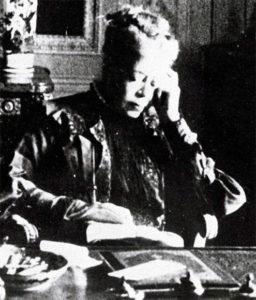 Fotografie: Hannah Mathilde von Rothschild, Frankfurter Stifterin, ohne Jahr.
