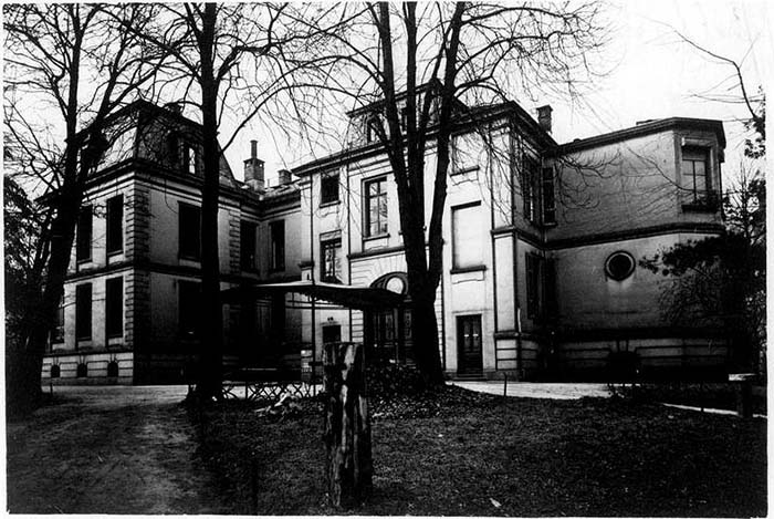Fotografie: Rothschild'sches Hospital, um 1932.