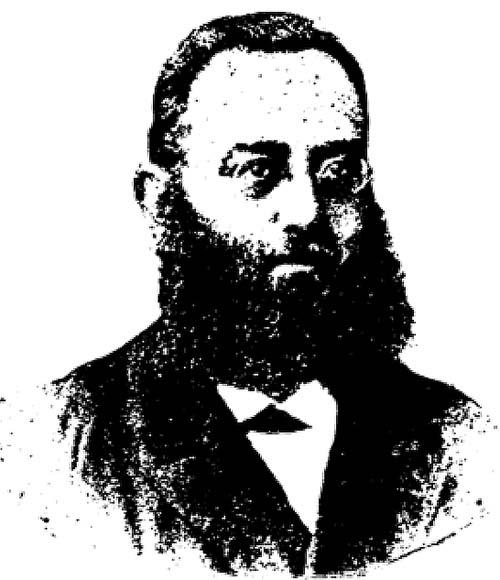 Dr. Marcus Hirsch, Portrait, undatiert (um 1873)