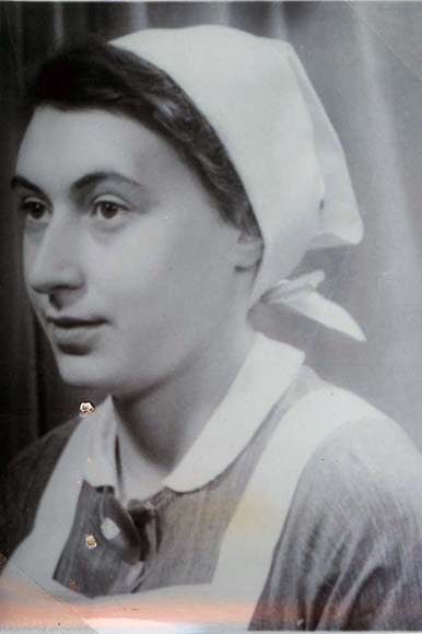 Fotografie: Zilli Heinrich, Krankenschwester, um 1939