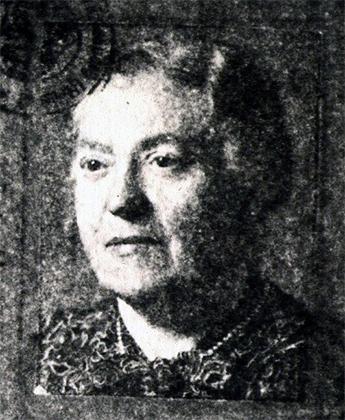 Fotografie: Lina Wagner, geb. Sandenell / Möglicherweise war Frau Wagner Krankenschwester in Bad Nauheim.
