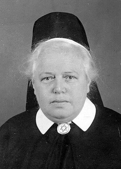 Fotografie: Klara Hess, Oberin des Vereins der jüdischen Krankenpflegerinnen zu Nürnberg, o.J. [um 1935].
