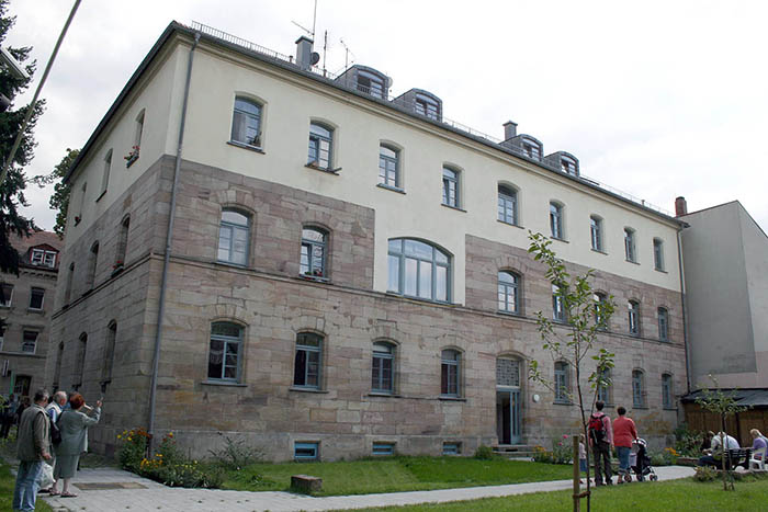 Fotografie: Jüdisches Krankenhaus Fürth / Gebäude des ehemaligen Jüdischen Krankenhauses (Israelitisches Hospital) Fürth