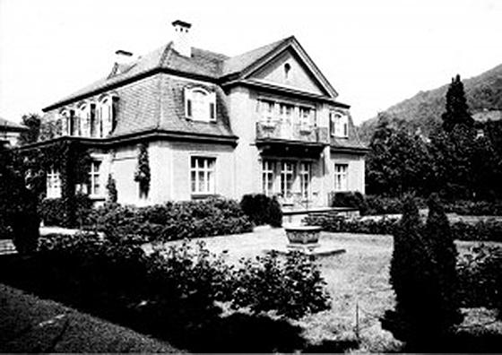 Fotografie: Jüdisches Altersheim Häusserstraße, Heidelberg (Villa Julius).