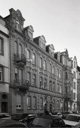 Fotografie: Häusserstraße 4, Heidelberg.