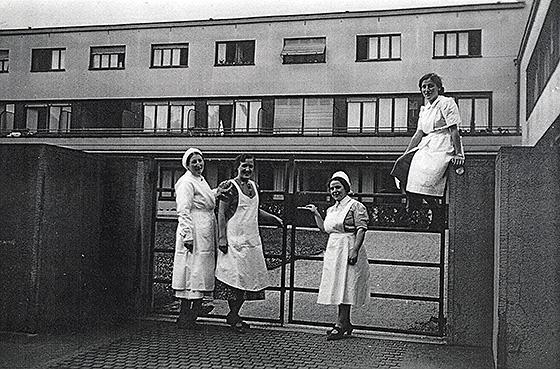 Jüdische Pflege in Mannheim und ihre Verbindung zur Frankfurter jüdischen Pflege