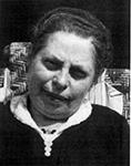 Fotografie: Emma Israel, Bewohnerin des früheren Budge-Heims